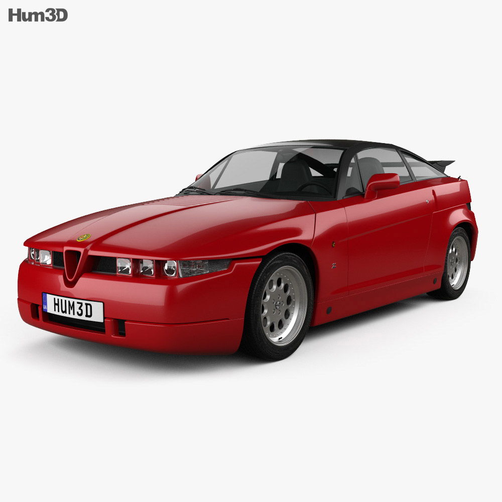 Alfa Romeo SZ 1989 3d model