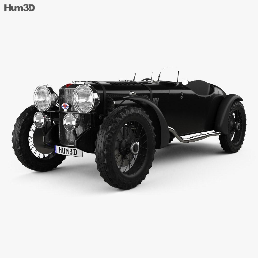 3D model of Alvis Speed 20 SB Sport 1934