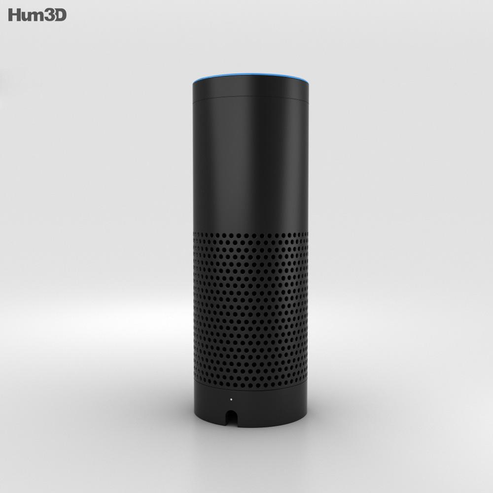 amazon echo 3d model humster3d. Black Bedroom Furniture Sets. Home Design Ideas