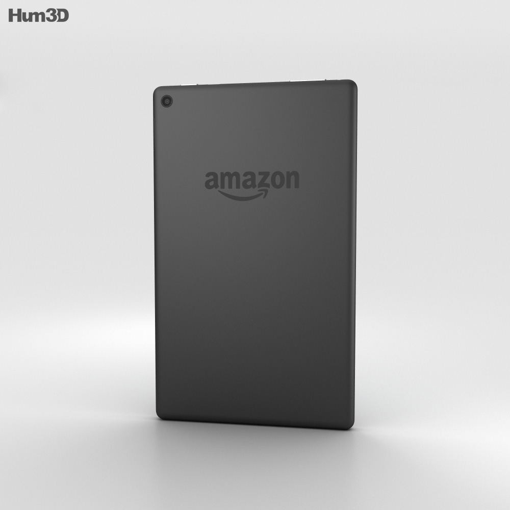 Amazon Fire HD 8 Black 3d model