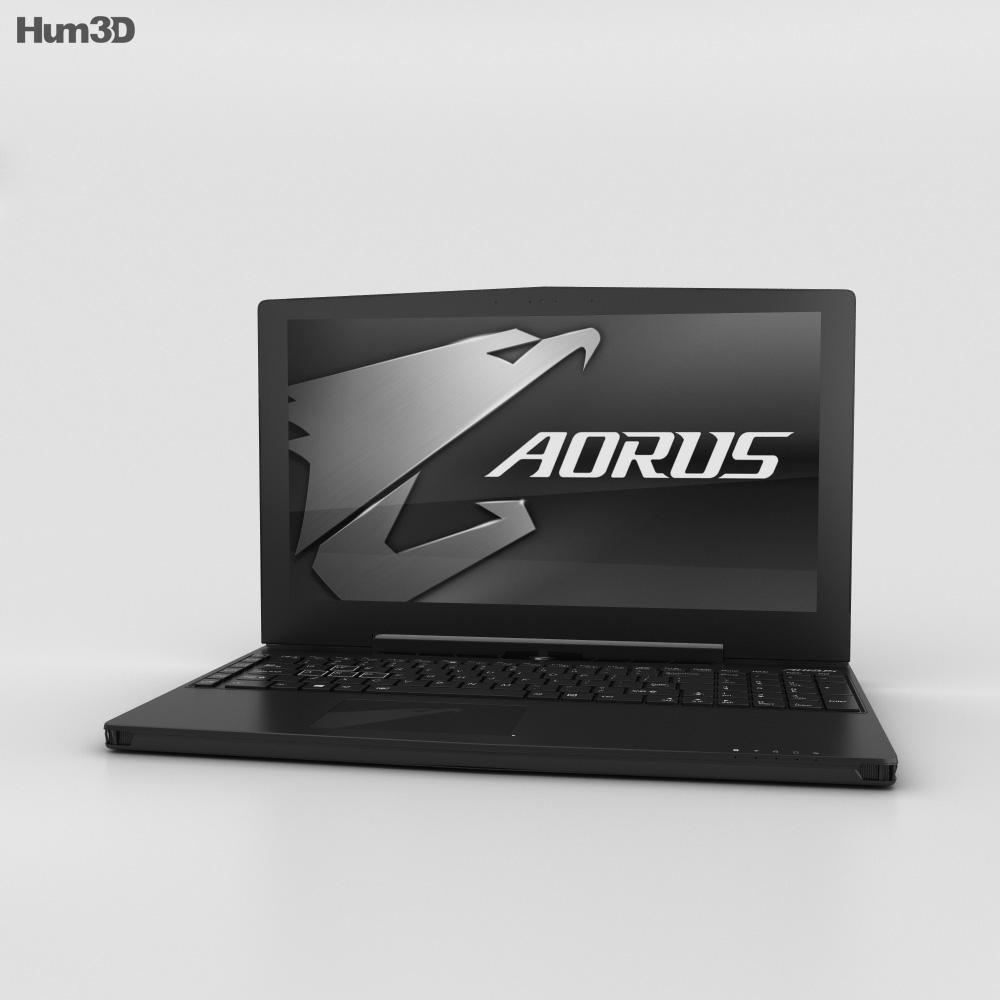 Aorus X5 3d model