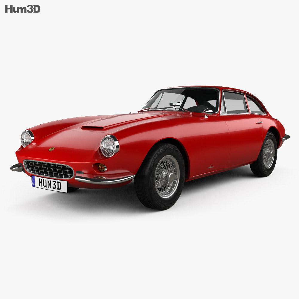 Apollo GT coupe 1965 3d model