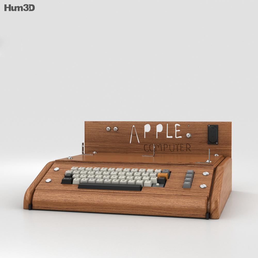 Apple I Computer 3d model
