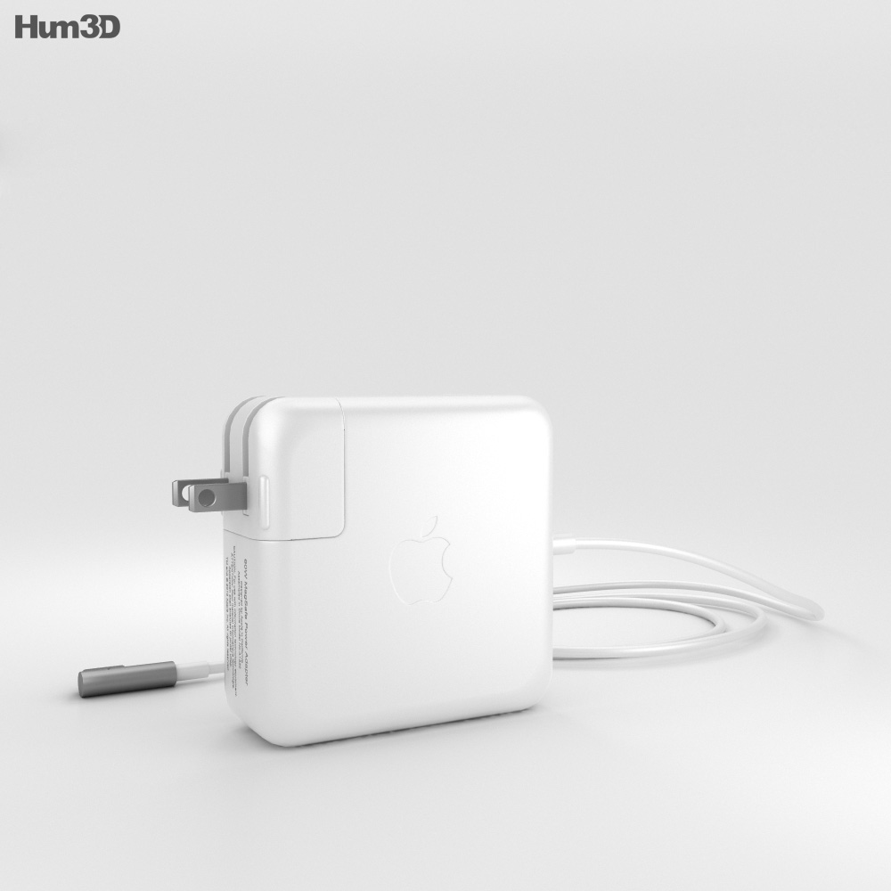 Apple 60W MagSafe Power Adapter 3d model