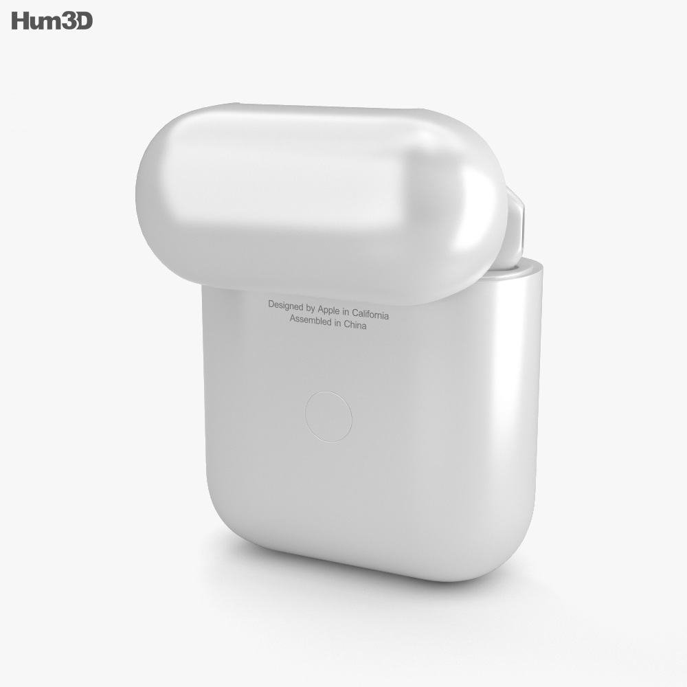 Apple AirPods 2nd gen 3d model