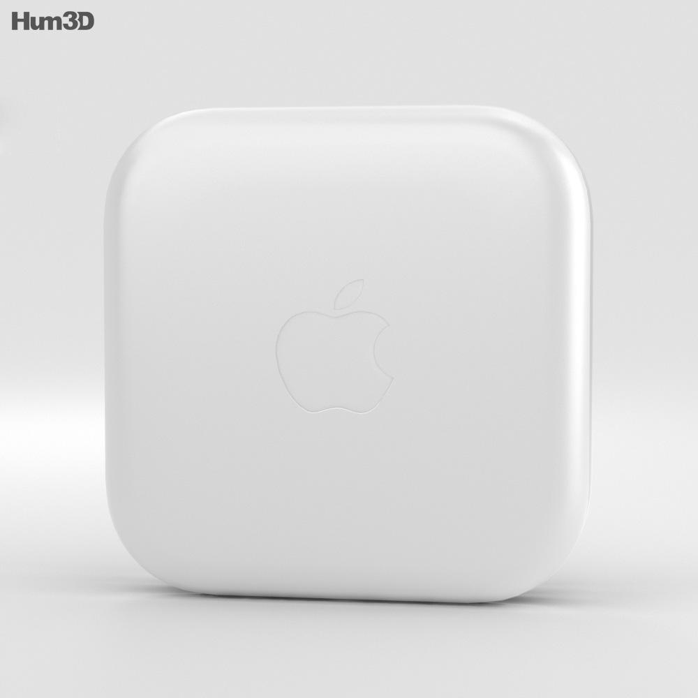 Apple EarPods 3d model