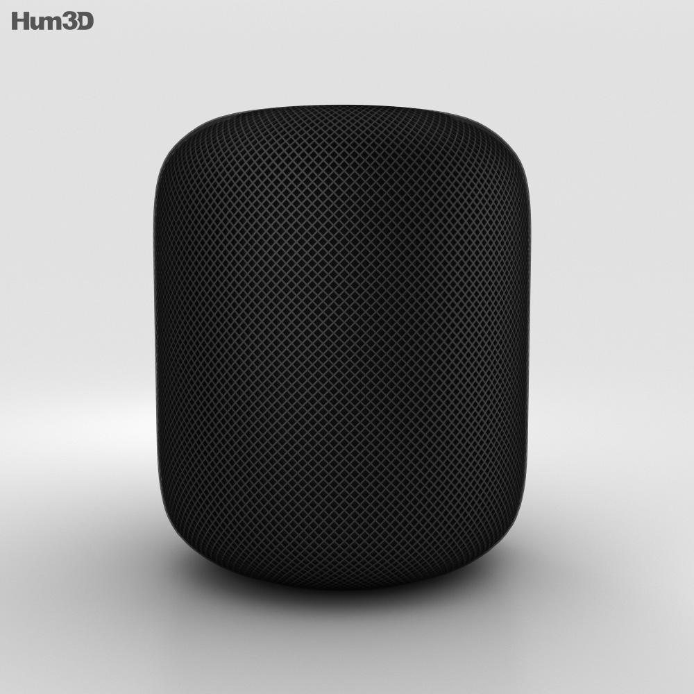 Apple HomePod Black 3d model