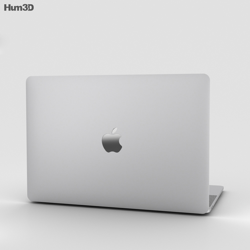 Apple MacBook Pro 15 inch (2016) Silver 3d model