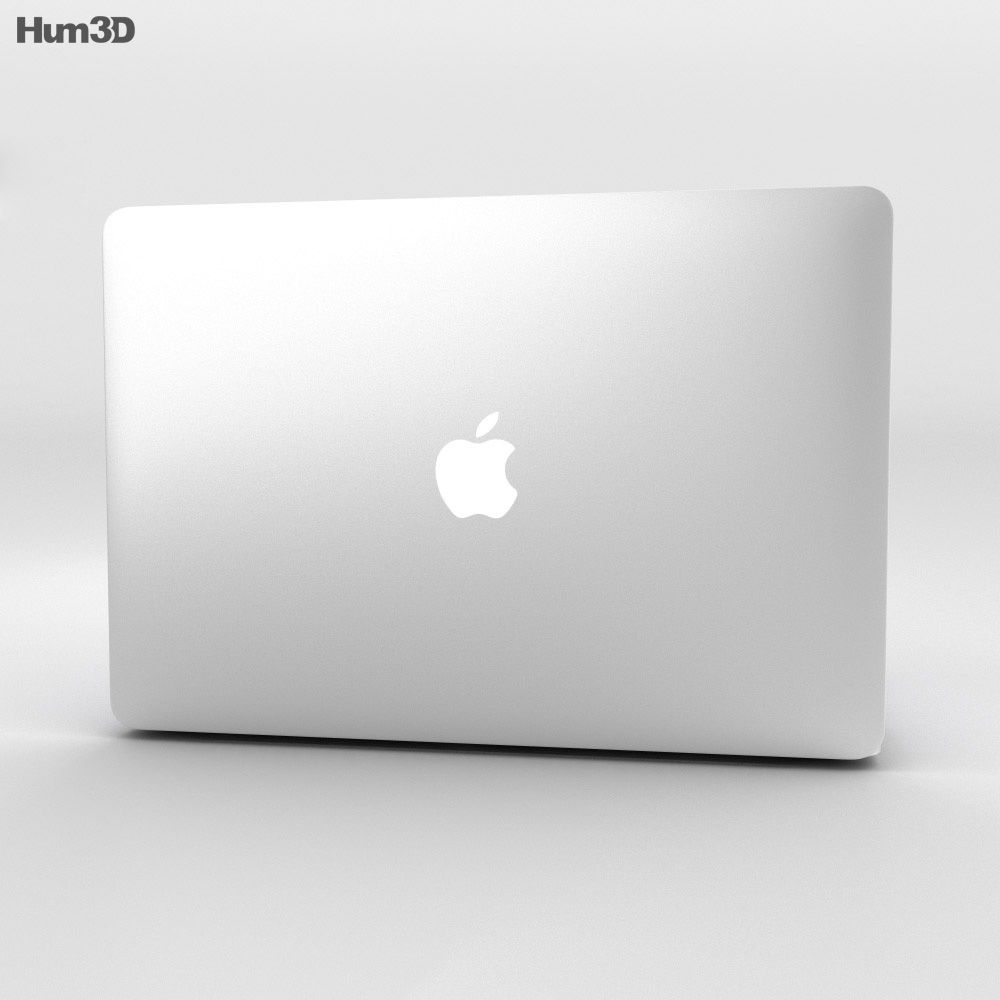Apple MacBook Pro with Retina display 15 inch 2014 3d model