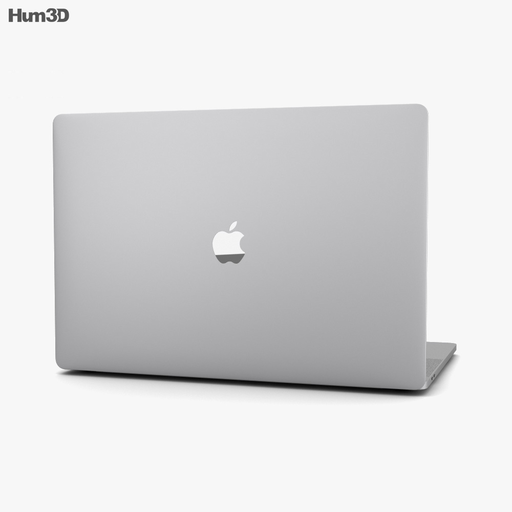Apple MacBook Pro 16 inch (2019) Silver 3d model