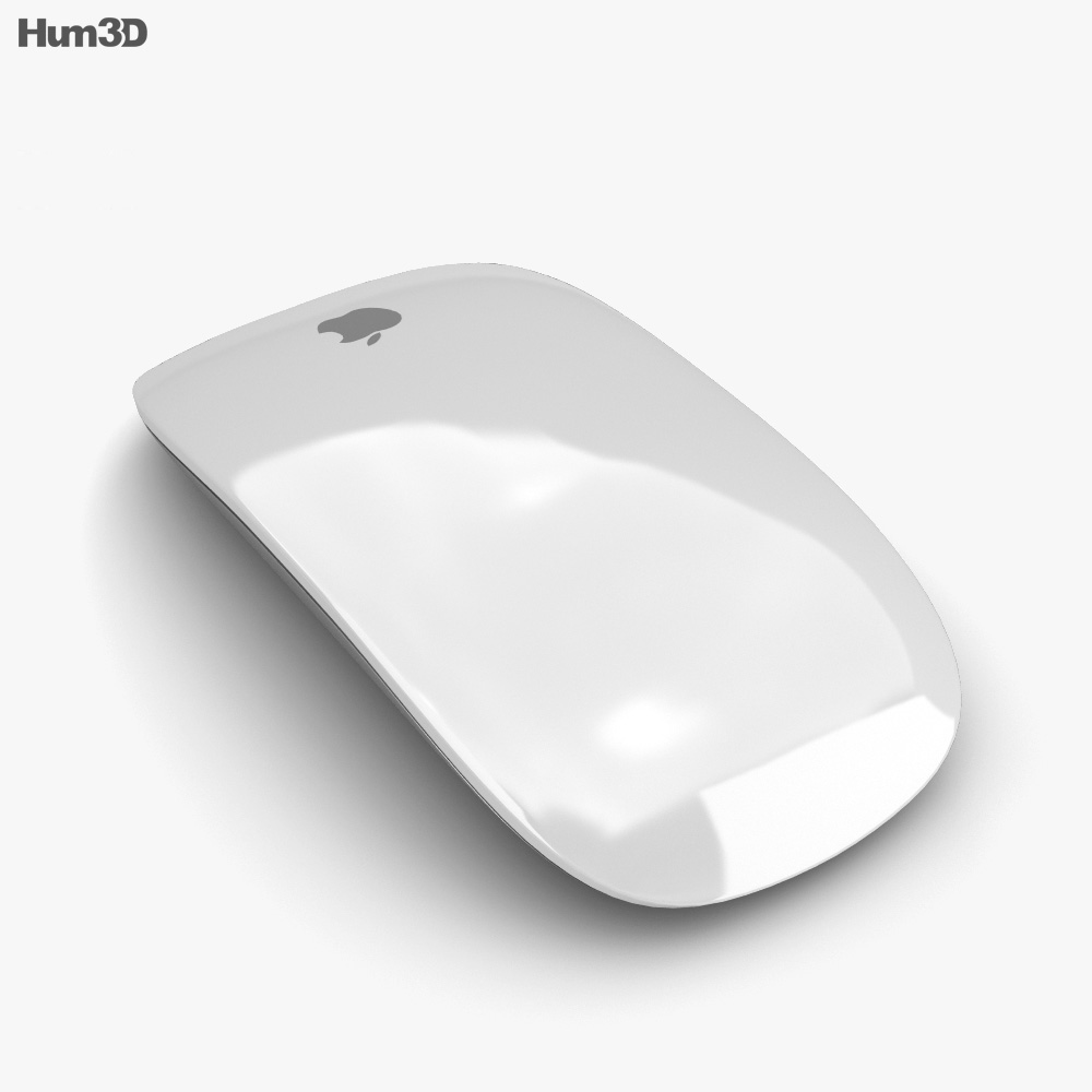 Apple Magic Mouse 2 3d model