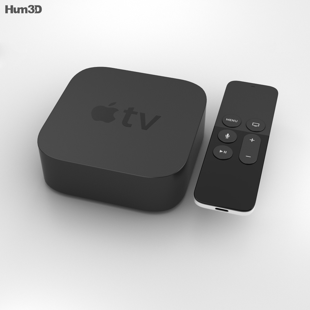 Apple TV (2015) 3d model
