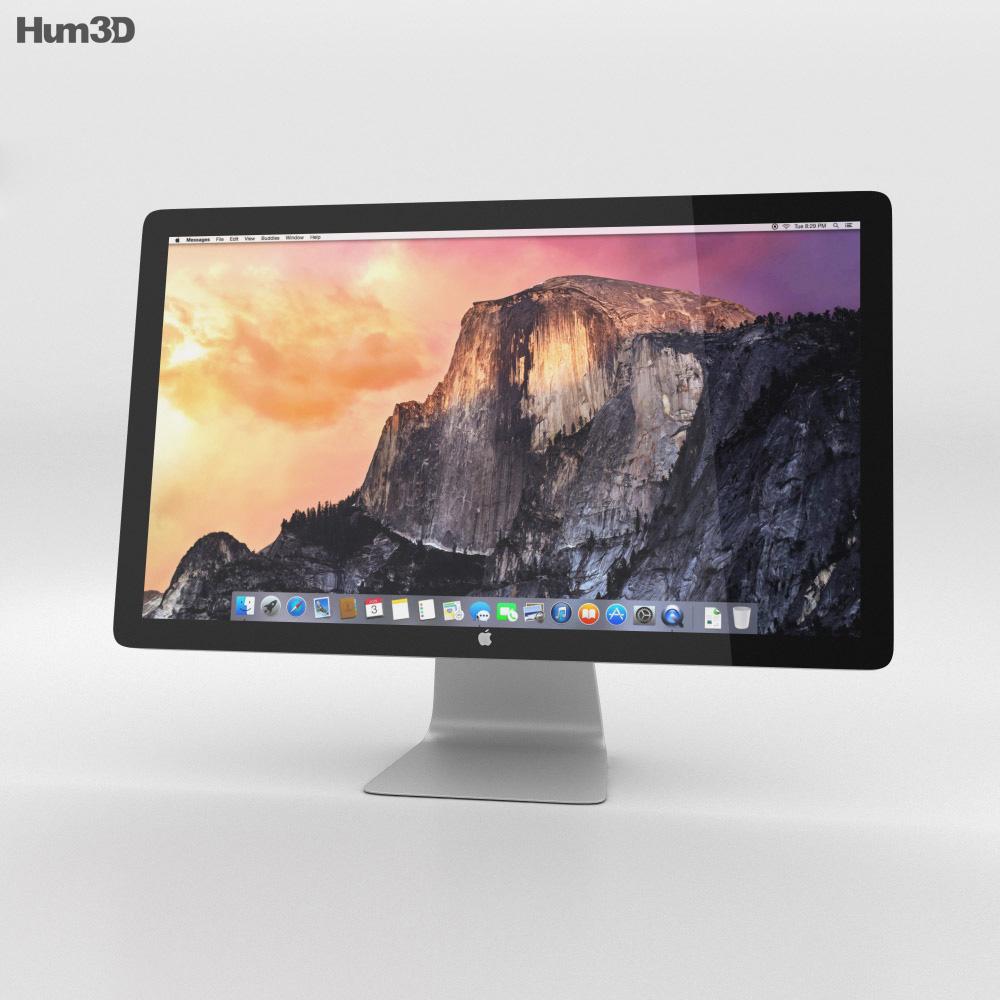 Apple Thunderbolt Display 27-inch 2014 3D-Modell