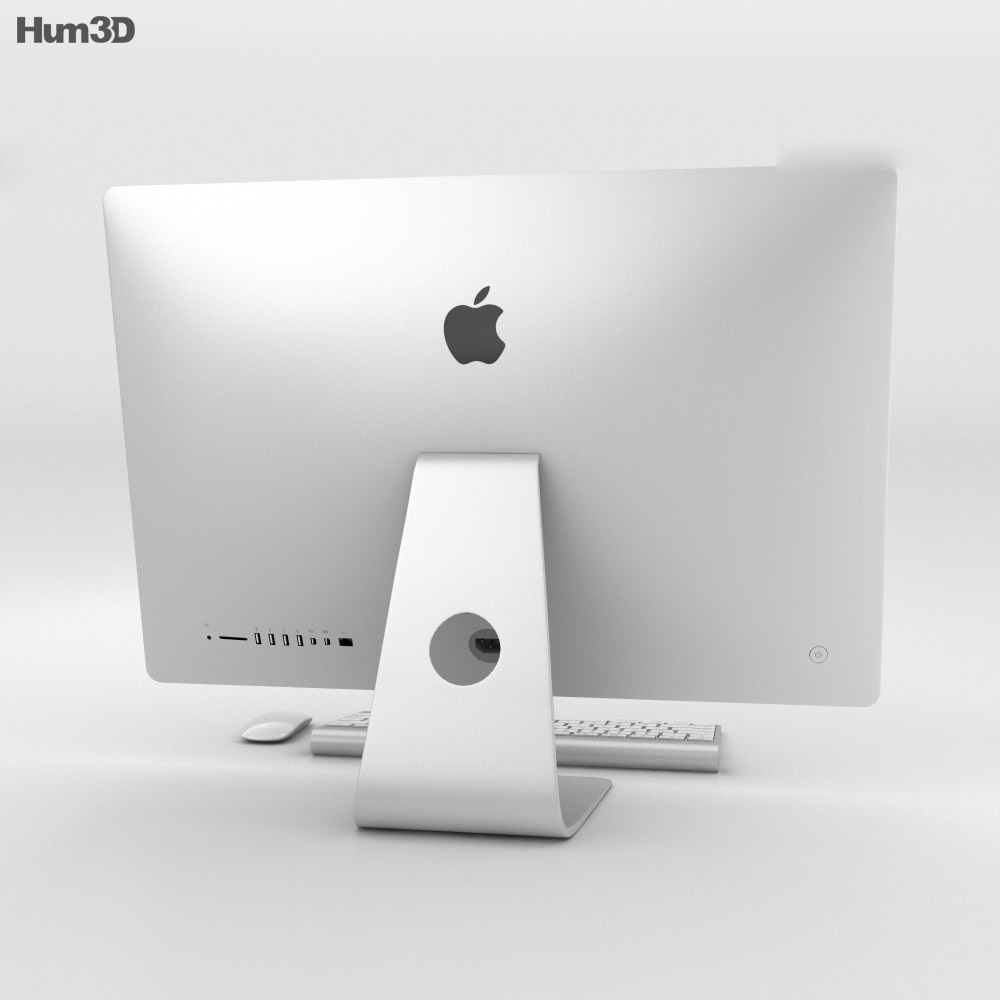 Apple iMac 27-inch 2014 3d model