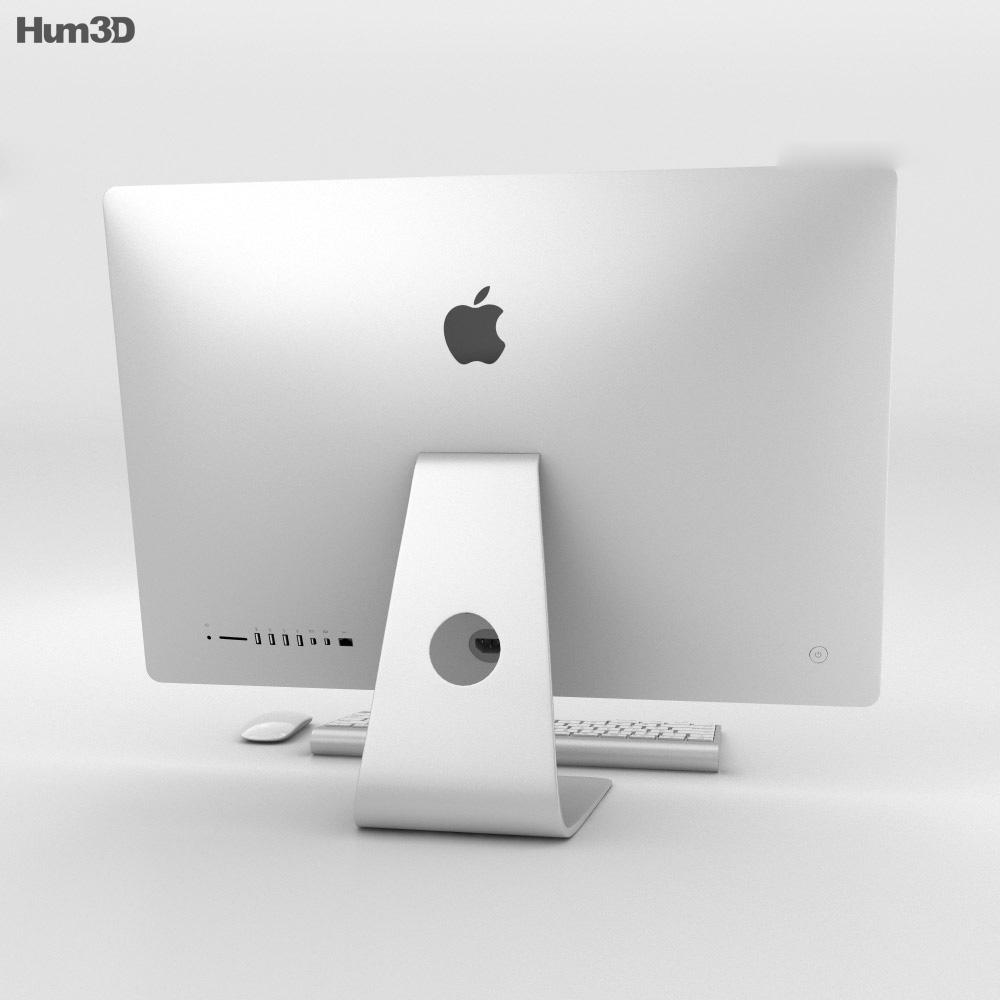 Apple iMac 27-inch Retina 5K 3d model