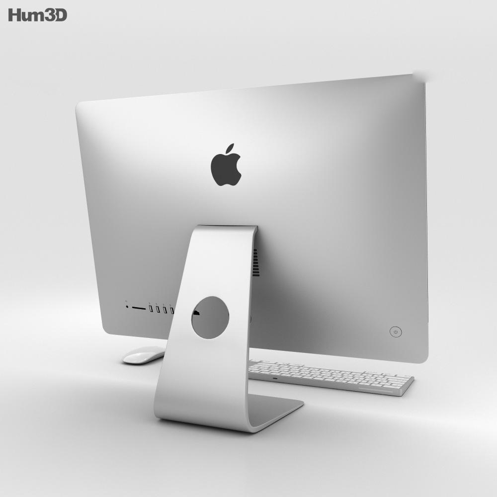 Apple iMac 21.5-inch (2017) 3d model