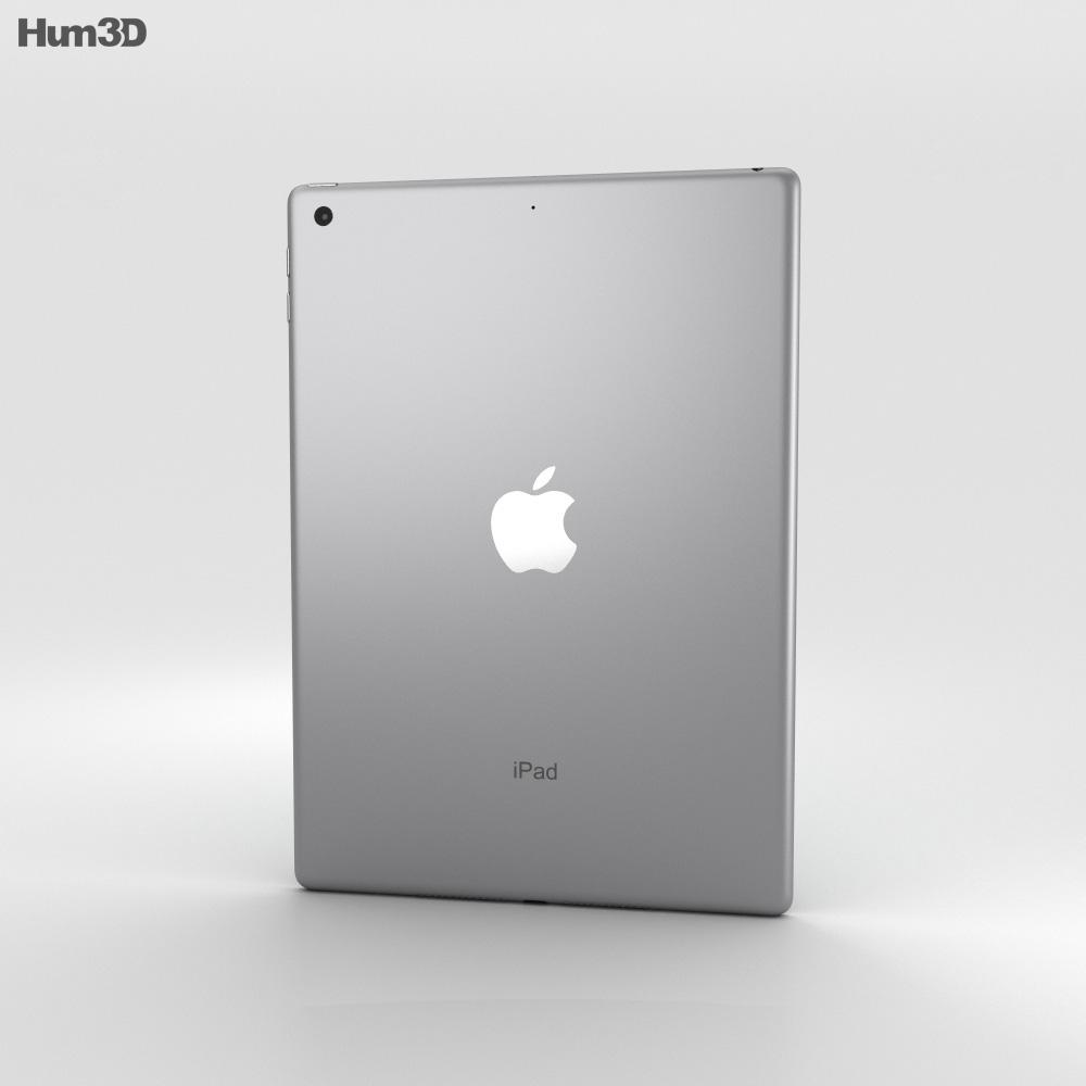 Apple iPad 9.7-inch Space Gray 3d model