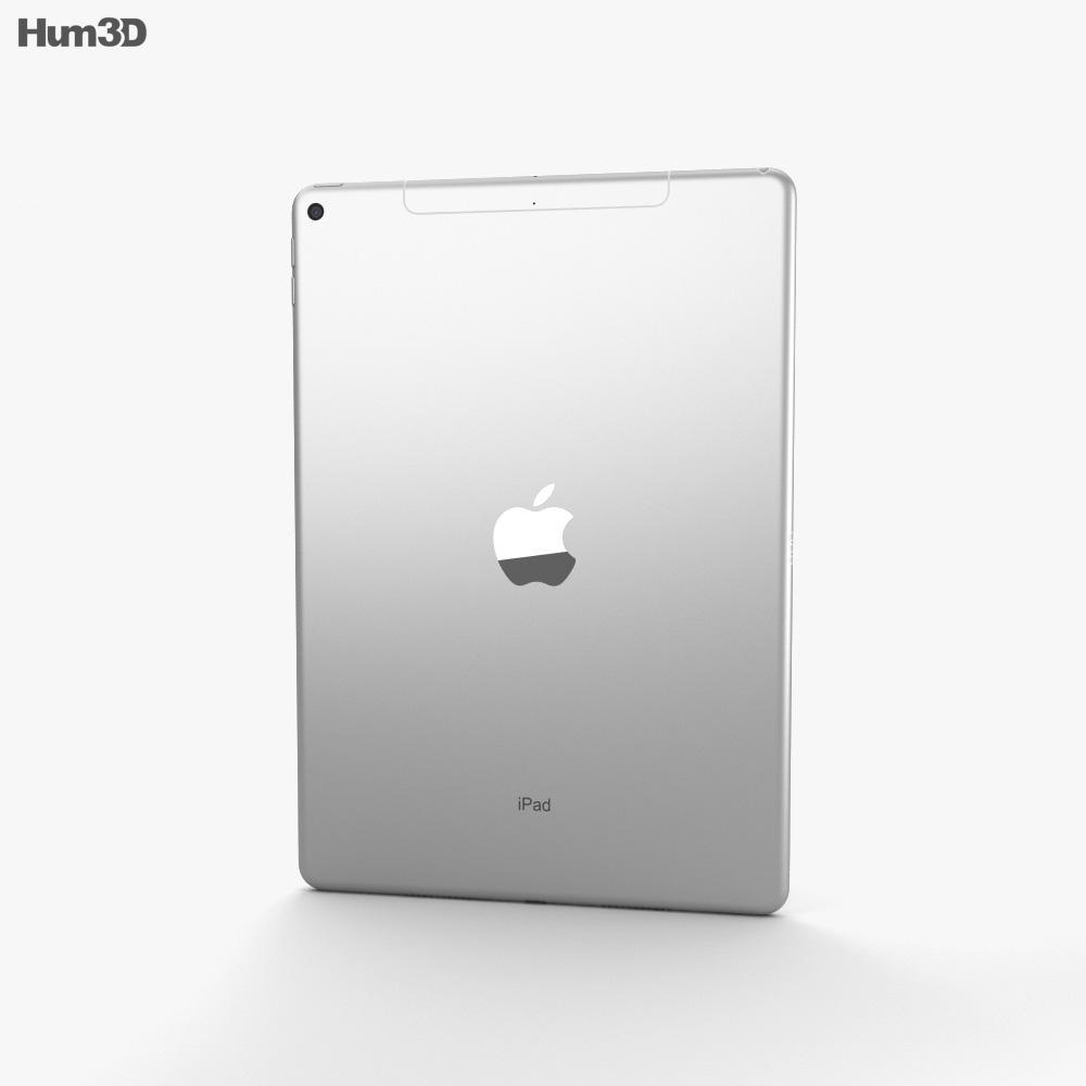 Apple iPad Air (2019) Cellular Silver 3d model