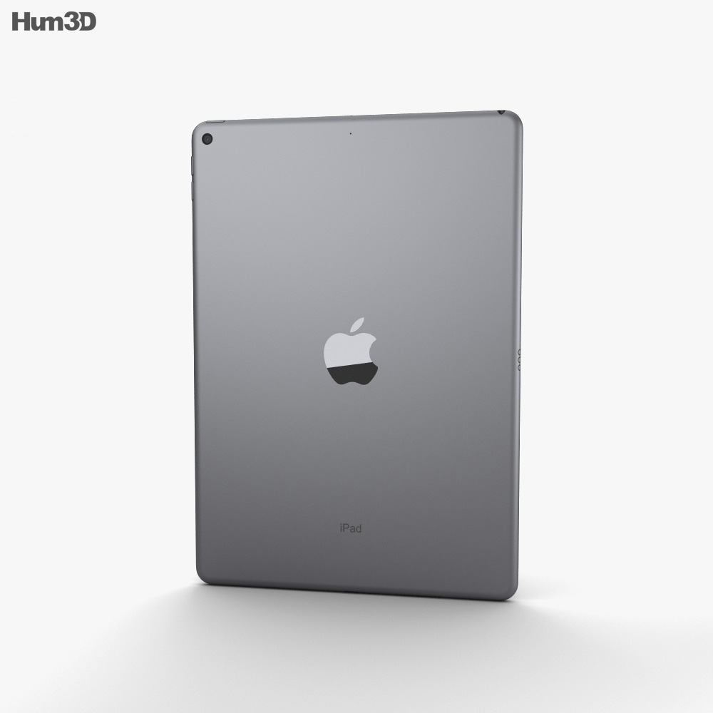 Apple iPad Air (2019) Space Gray 3d model