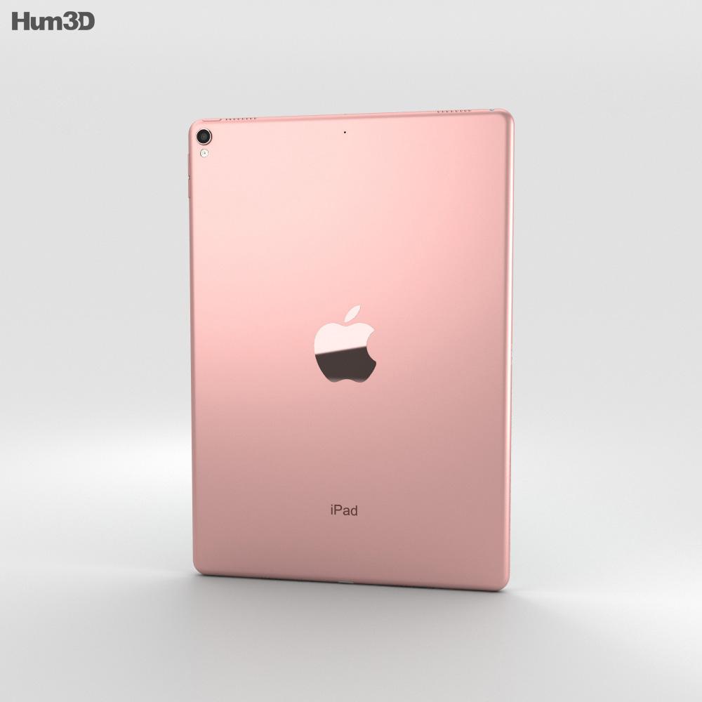 Apple iPad Pro 10.5-inch (2017) Rose Gold 3d model