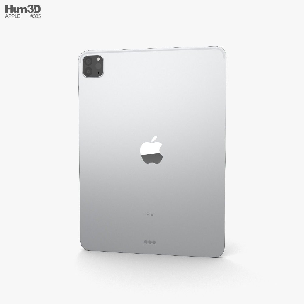 Apple iPad Pro 11-inch (2020) Silver 3d model