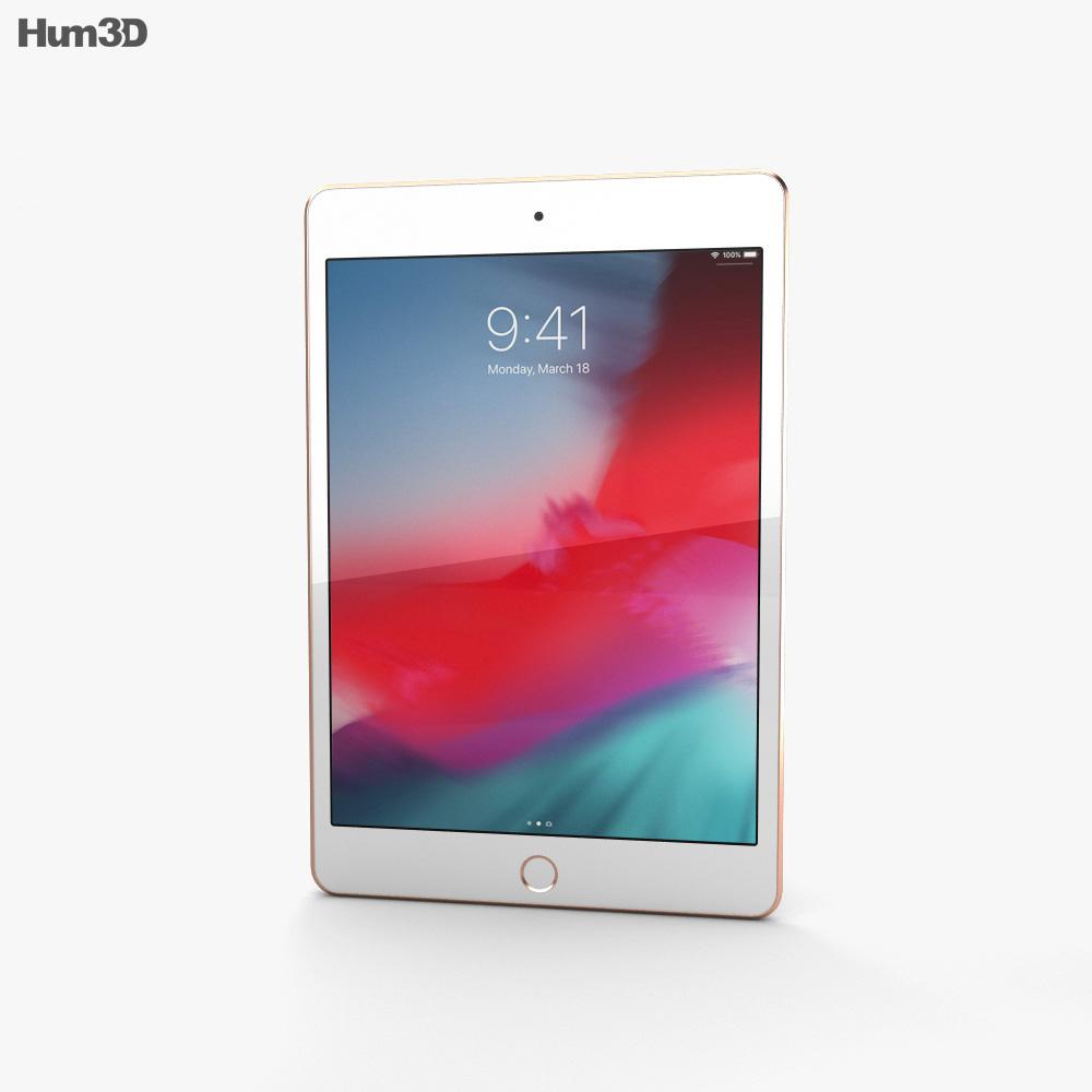 Apple iPad mini (2019) Gold 3d model