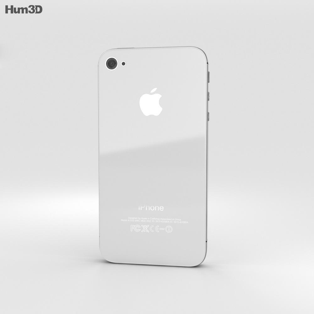 Apple iPhone 4s 3d model