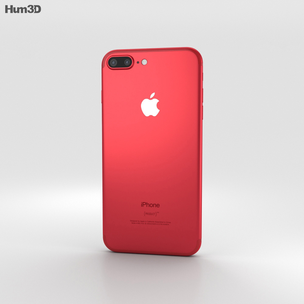 Red Apple Iphone  Plus