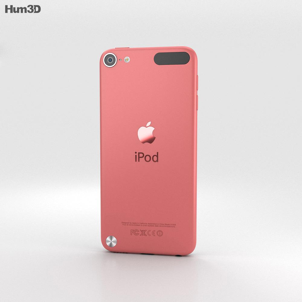 Apple iPod Touch Pink 3D model - Hum3D