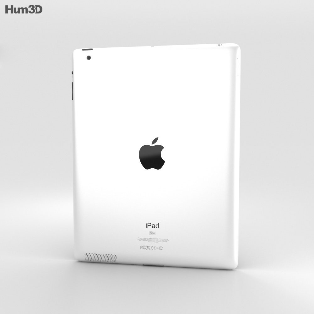 Apple iPad 2 WiFi 3d model