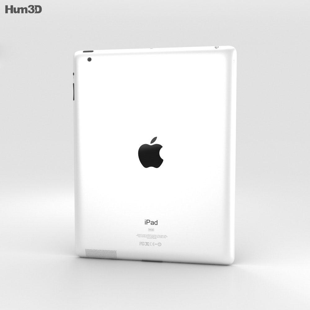 Apple The new iPad WiFi (iPad 3) Modelo 3d
