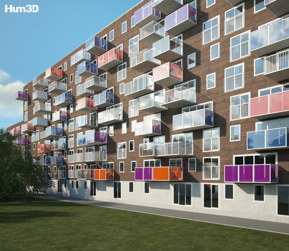 Wozoco Apartments 3D Model