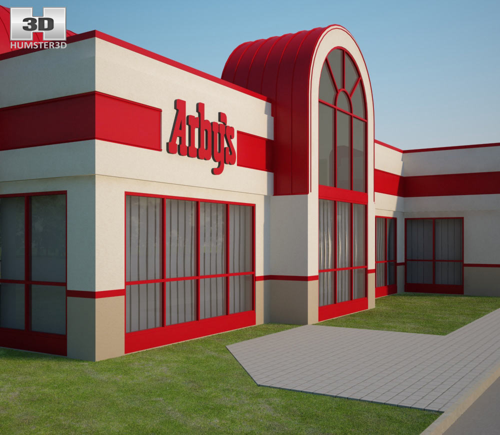 Arby's Restaurant 02 3d model