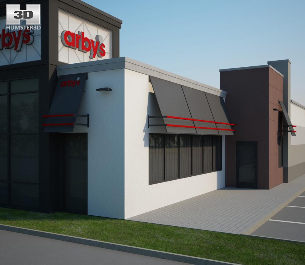 Arby's Restaurant 03 3d model