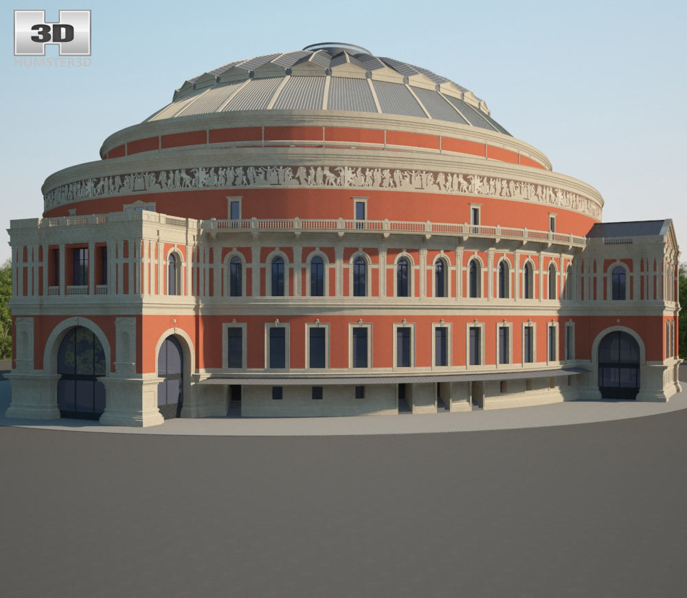 Royal Albert Hall 3d model