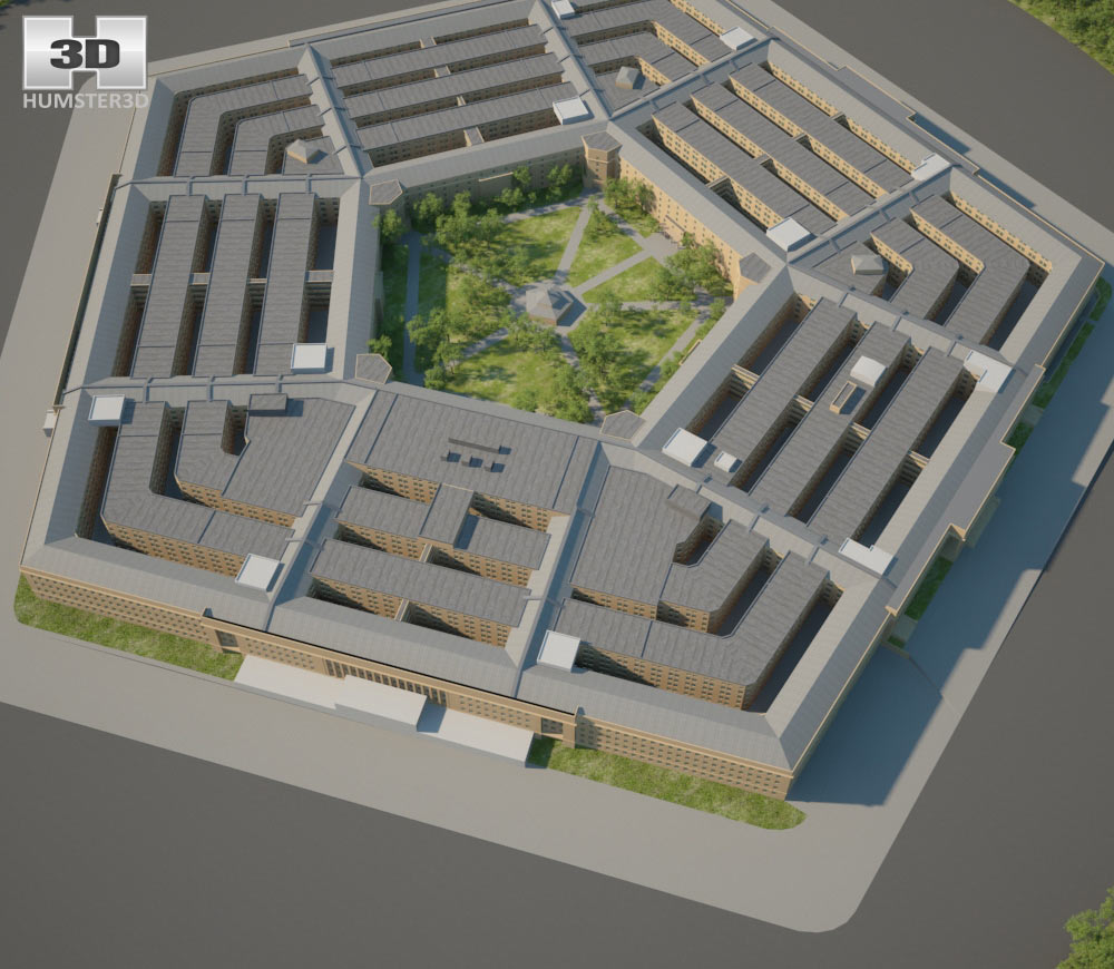 The Pentagon 3d model