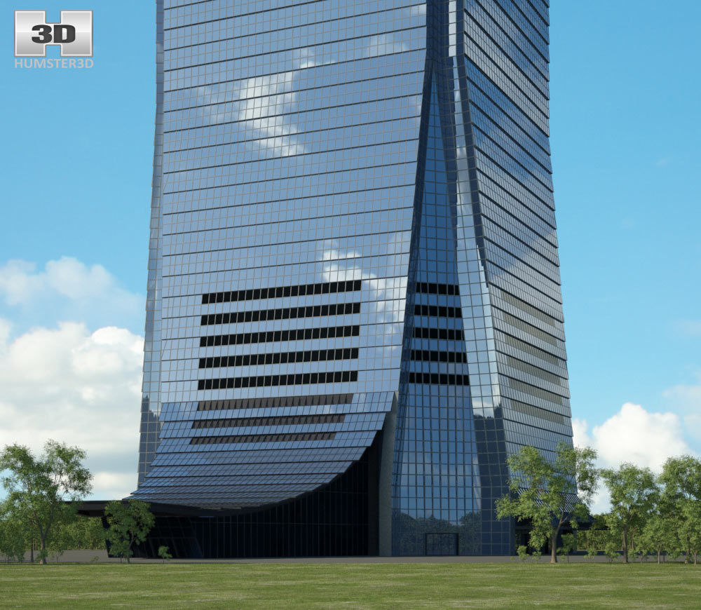 International Commerce Centre 3d model