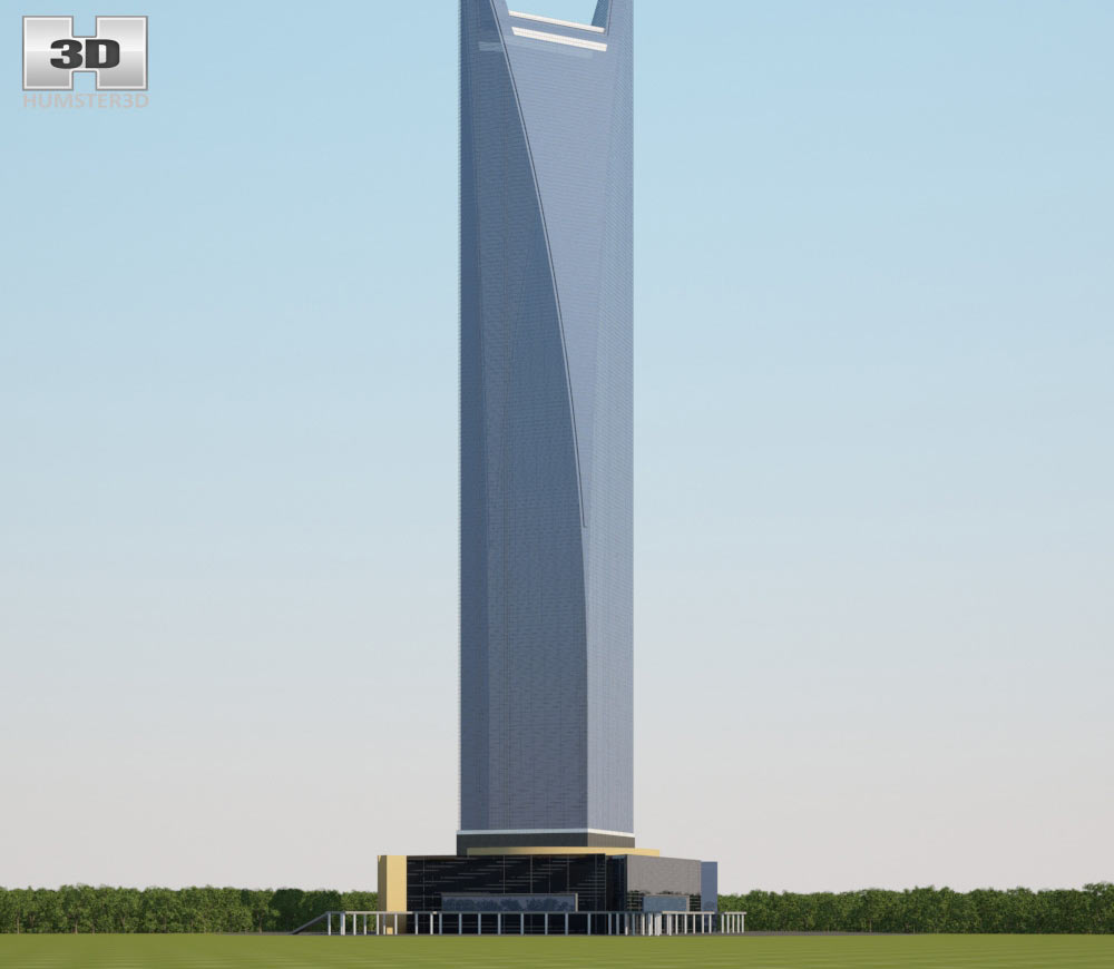 Shanghai World Financial Center 3d model
