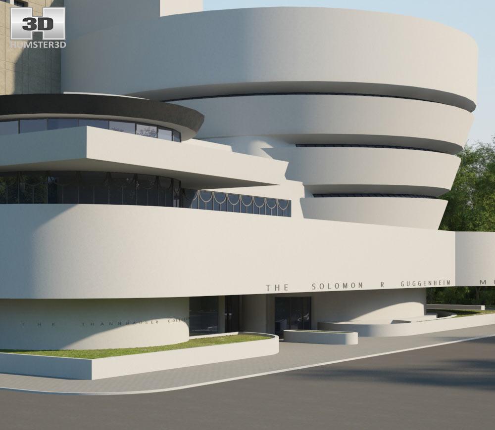 Solomon R. Guggenheim Museum 3d model