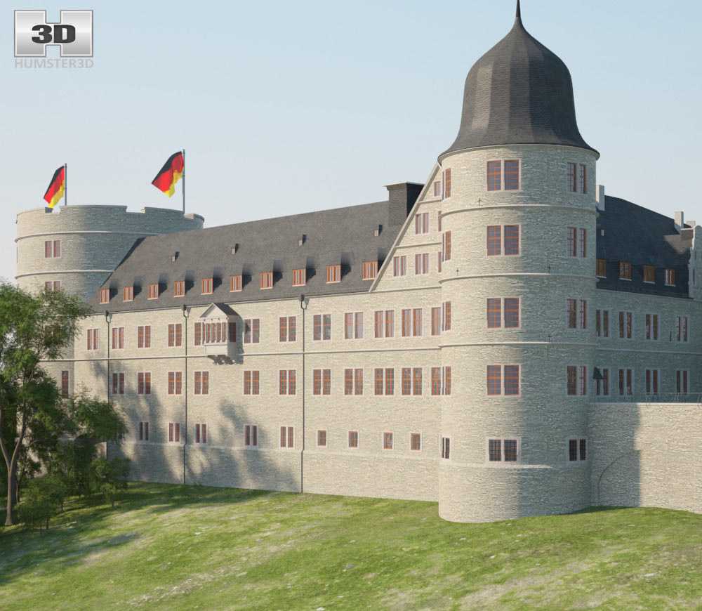 Wewelsburg 3d model