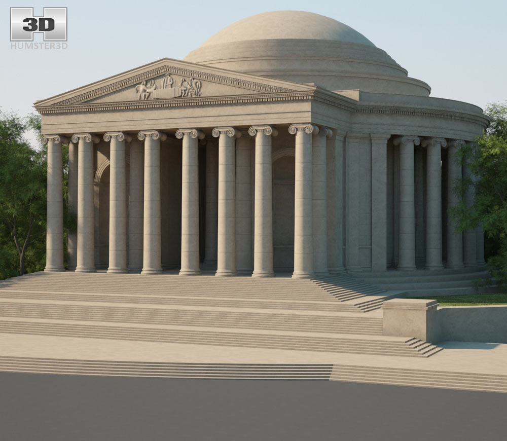 Thomas Jefferson Memorial 3d model