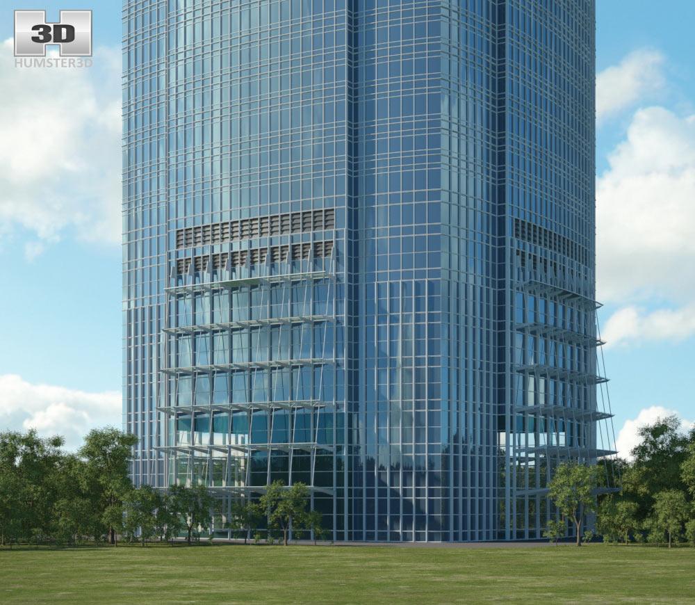 International Finance Centre 3d model