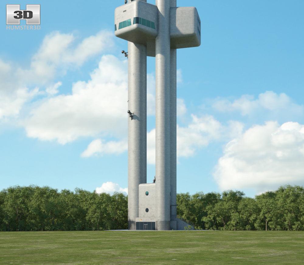 Zizkov Tower 3d model