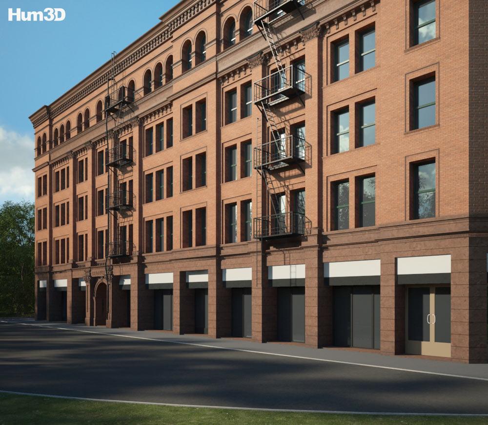 Bradbury Building 3d model