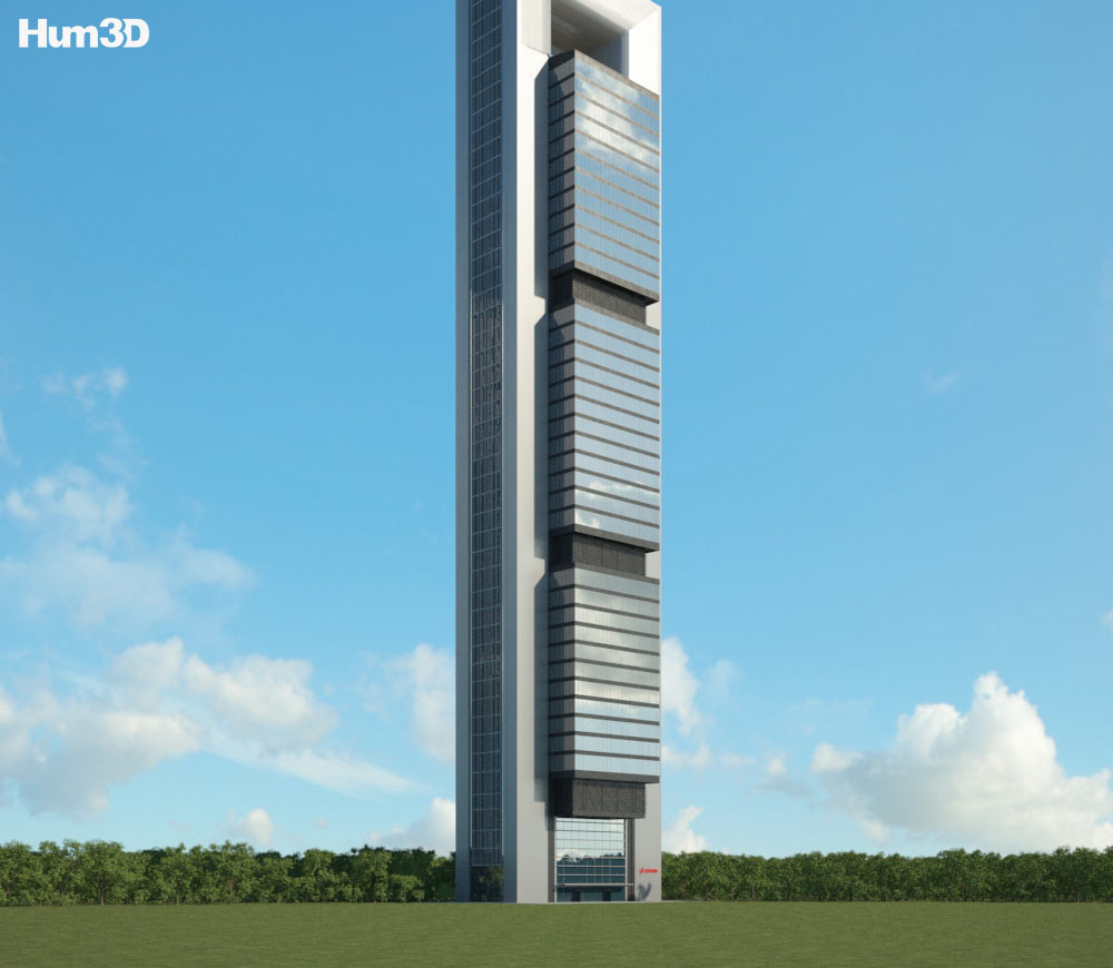 Torre Cepsa 3d model