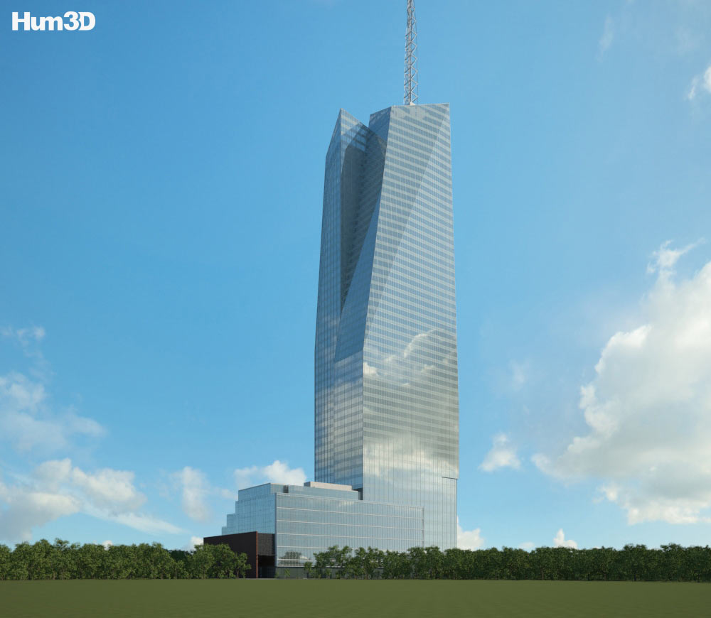 Bank of America Tower (New York City) 3d model