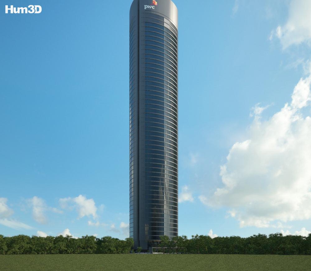 Torre PwC 3d model