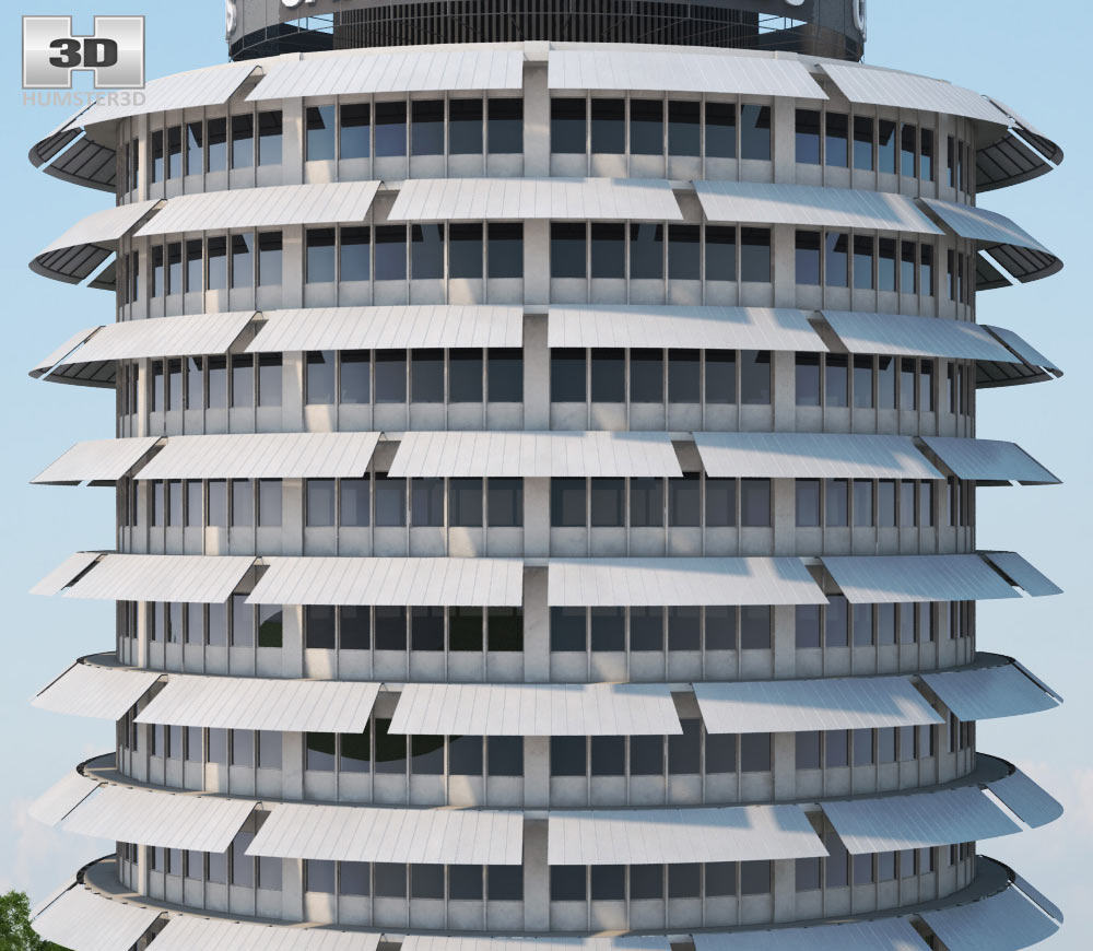 Capitol records building 3d model hum3d capitol records building 3d model capitol records building 3d model malvernweather Image collections