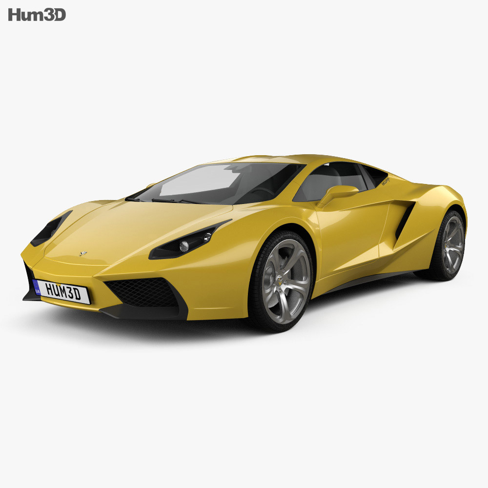 Arrinera Hussarya 2015 3d model
