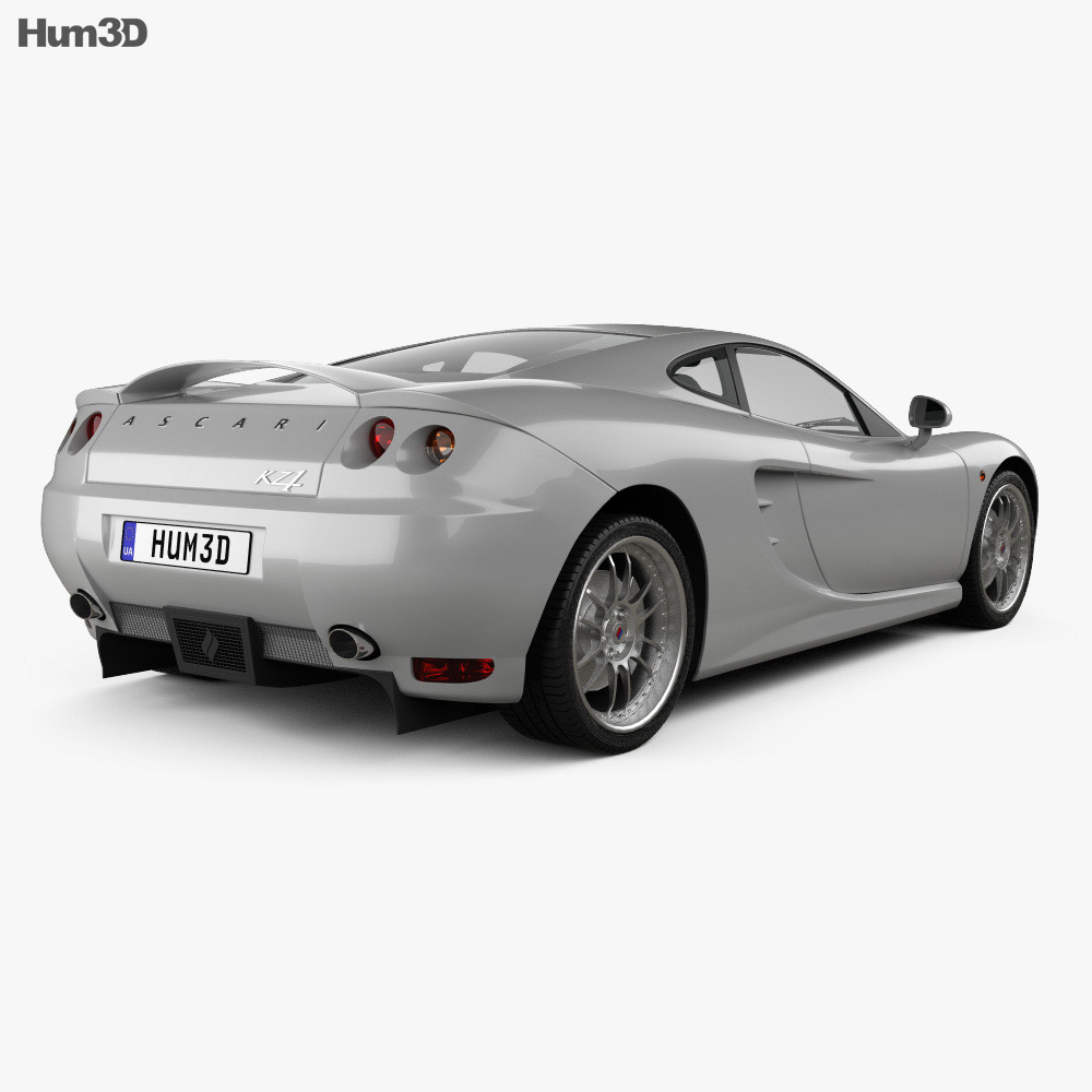 Ascari KZ1 2003 3d model